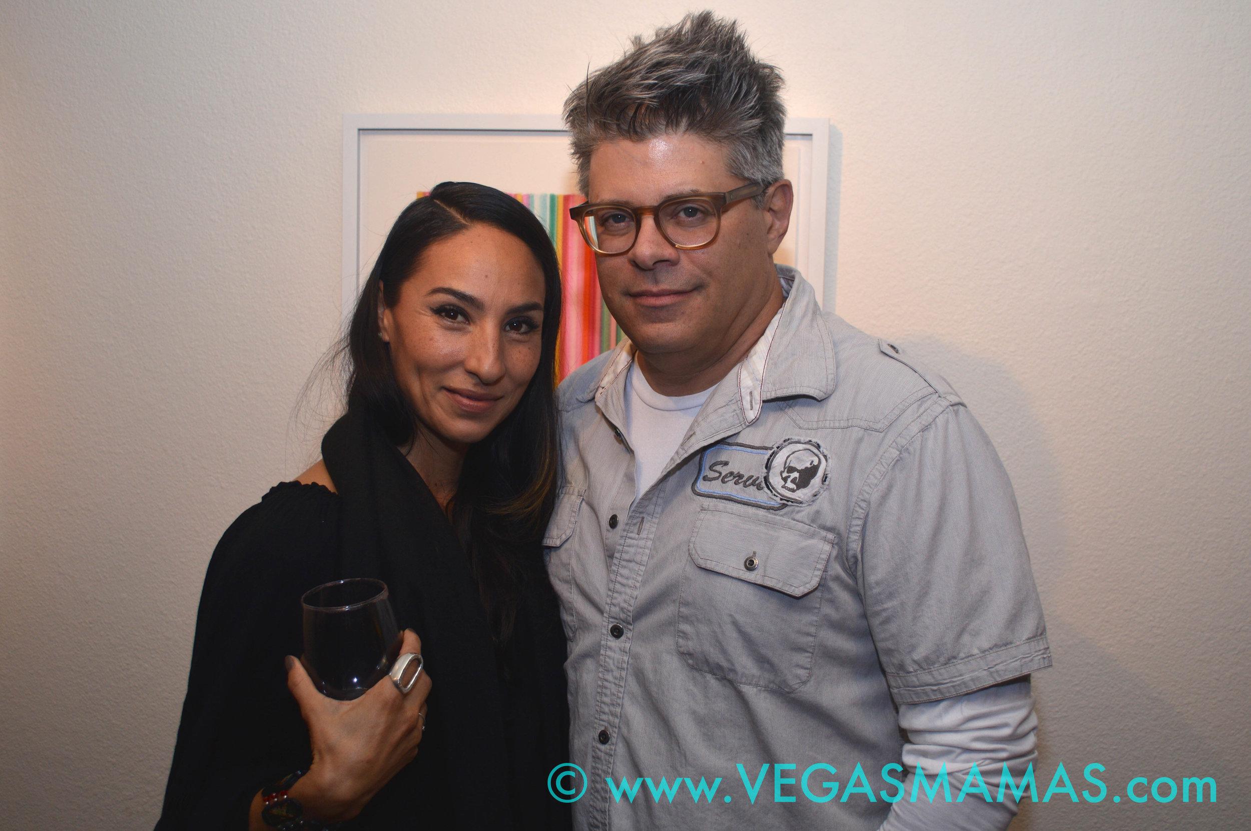 Marcela de la Vega Aberman and Larry Aberman
