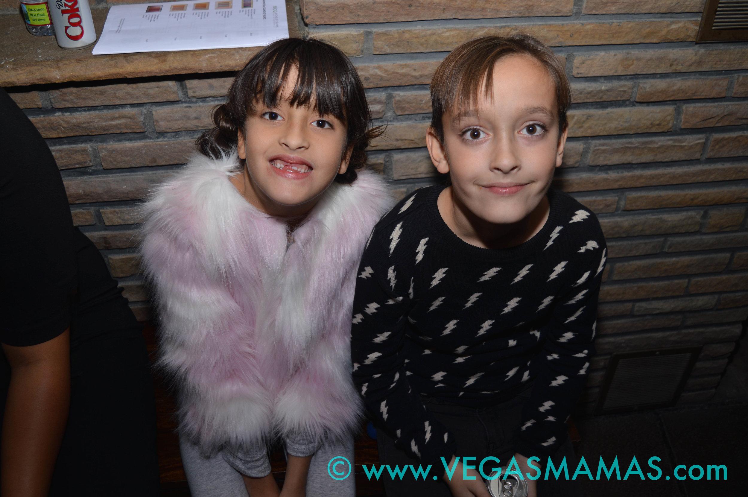 Lily Bavington with her twin brother, Jet Bavington