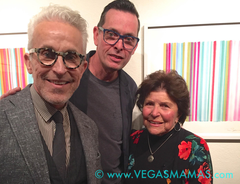 Roger Thomas, Tim Bavington & Joyce Mack
