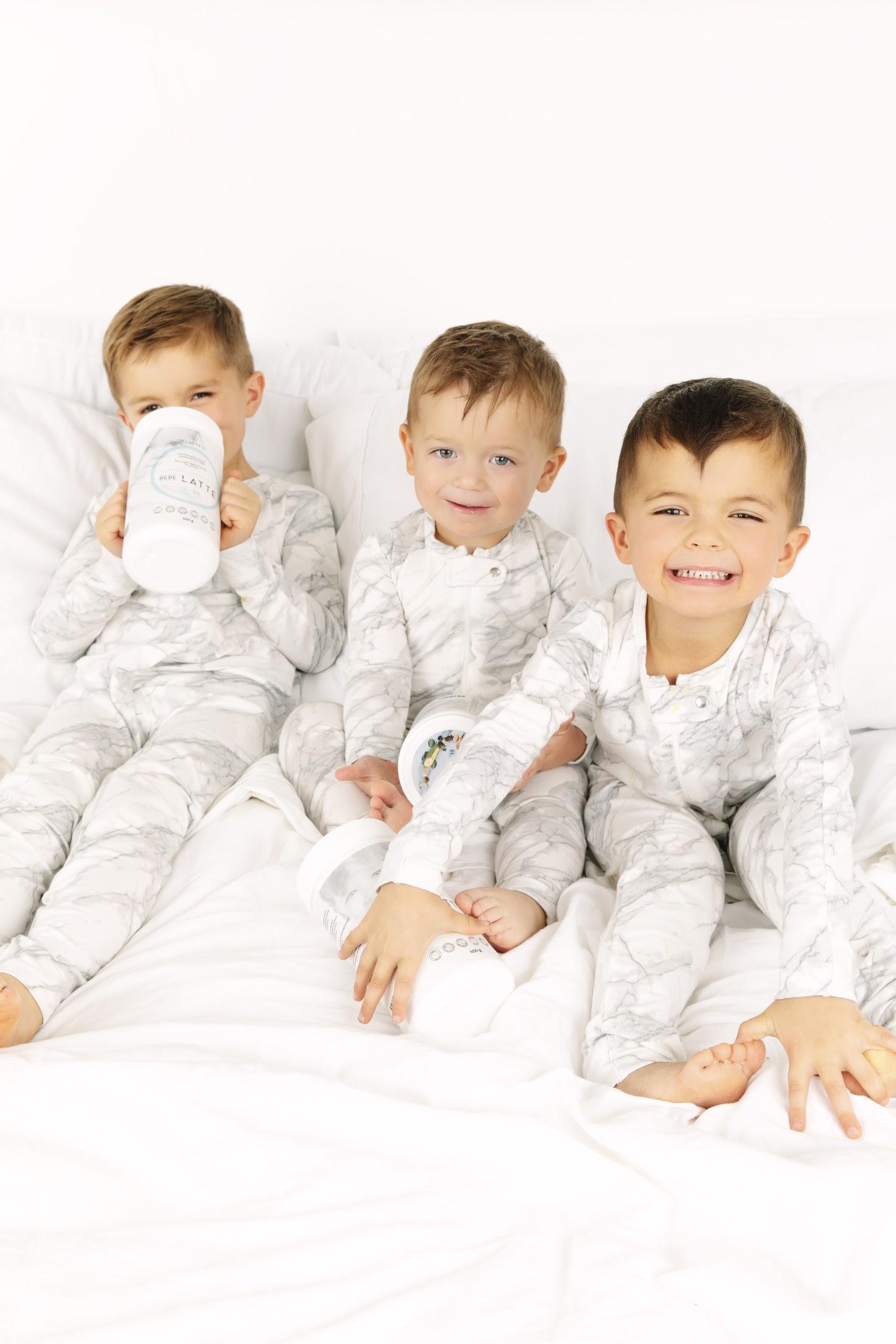 The Pacioretty boys love their mama's LATTE!