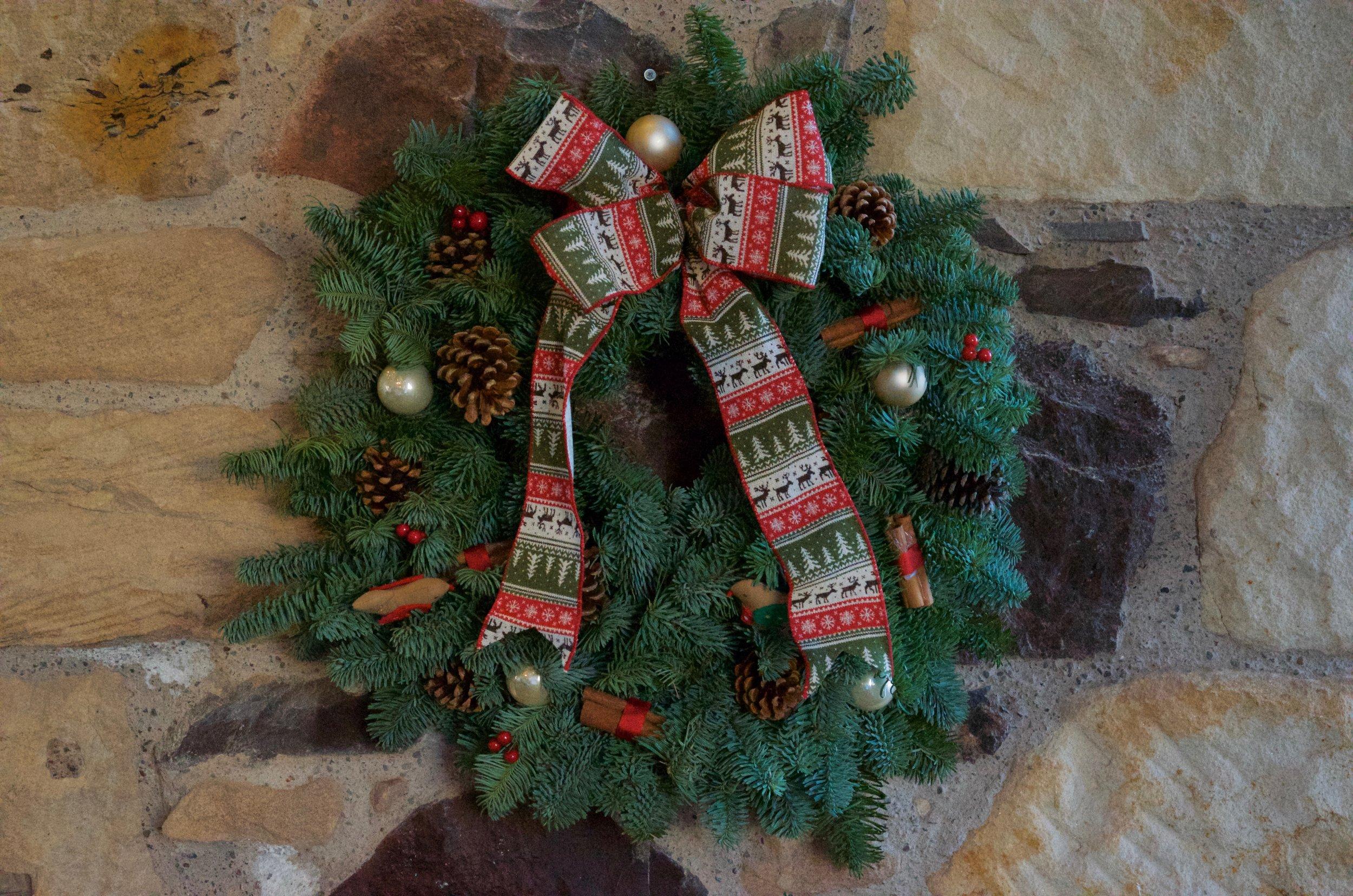 """Luxury Door Wreath 12"""""""