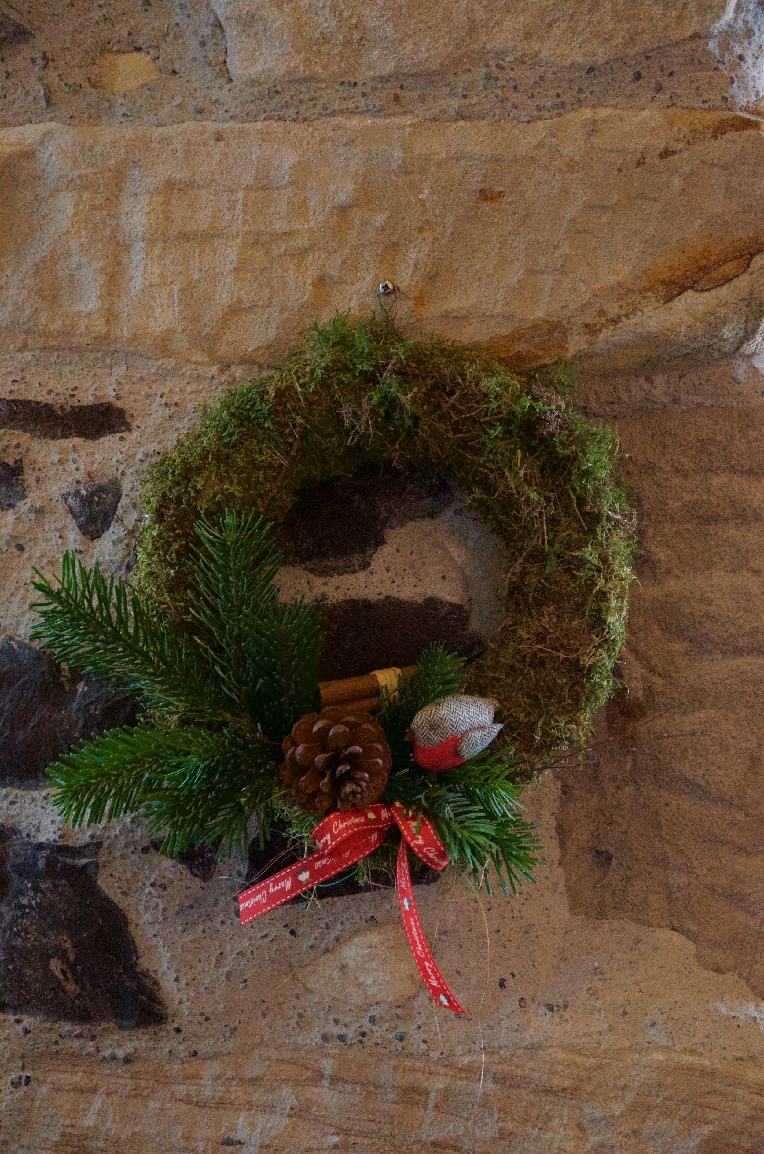 "Moss Wreath 10"""