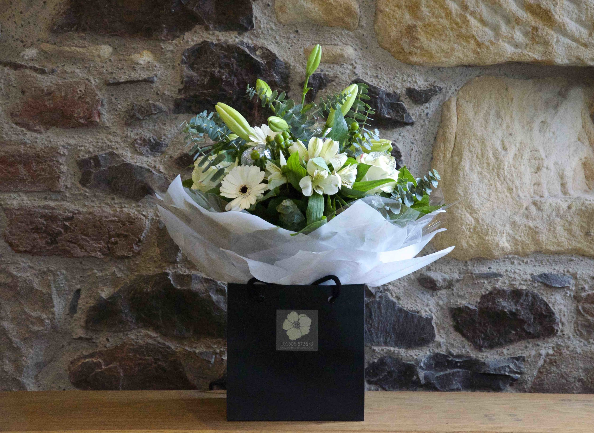 Large Hand Tied Bouquet in Water