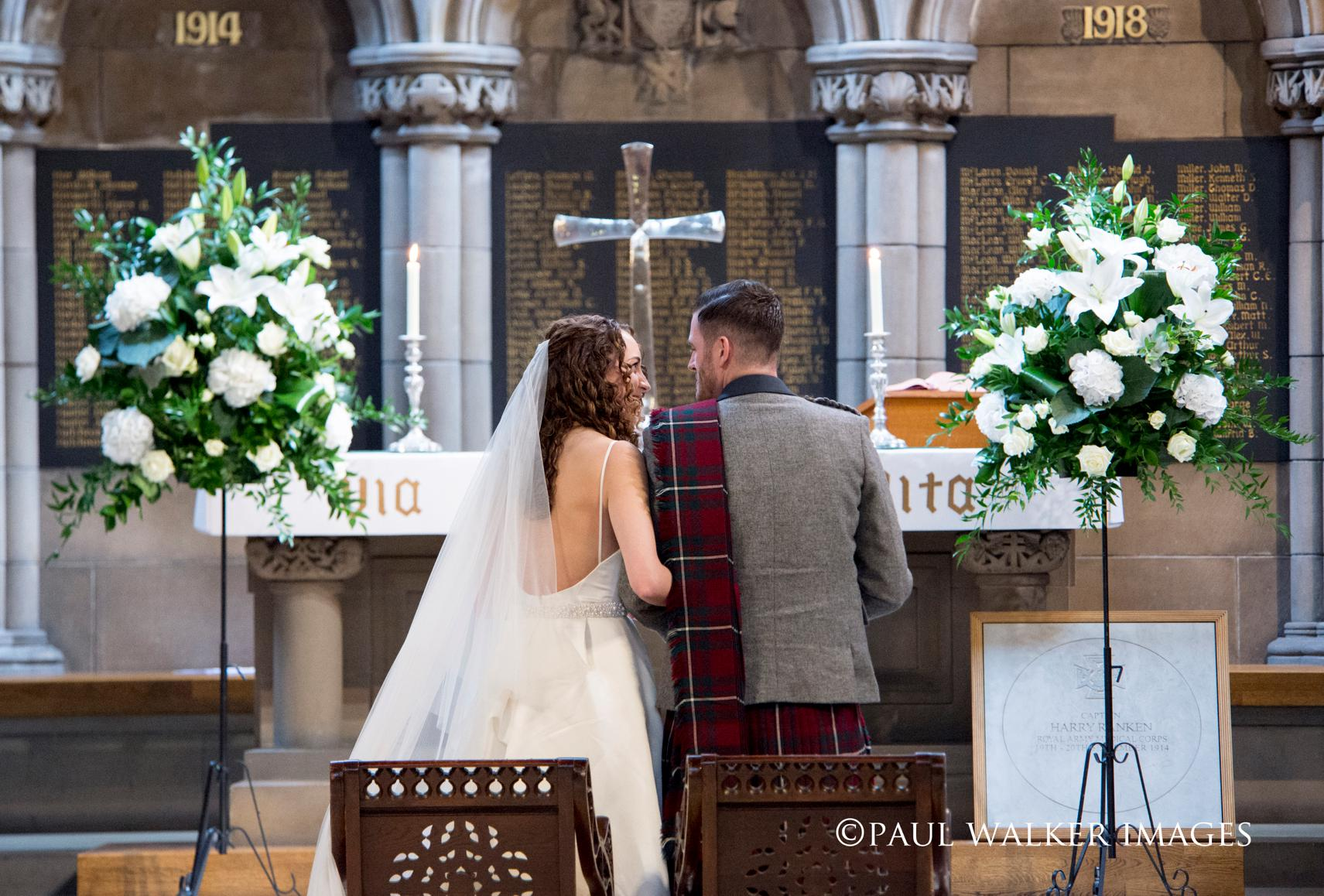 Lauren & Ross - Glasgow University Chapel & Lochgreen House Hotel