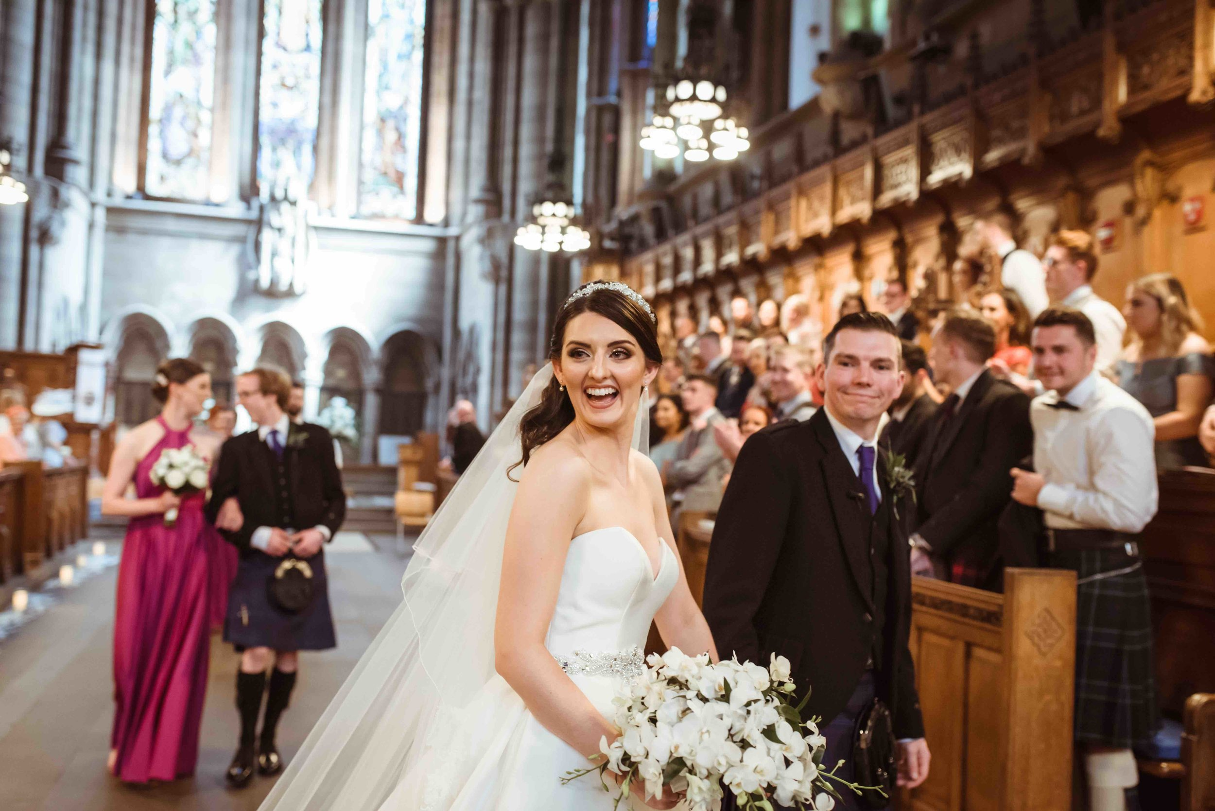 Heather & Paul - Glasgow University Chapel