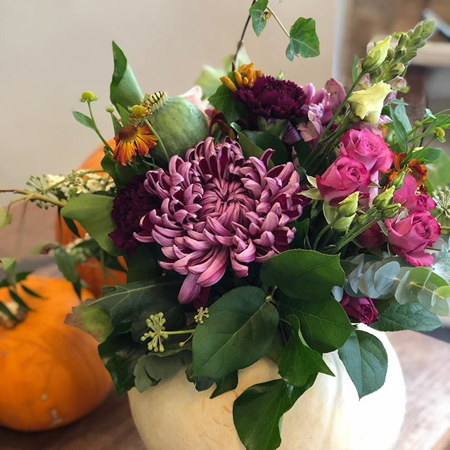 We will close at 5pm today -11th October and re open on Wednesday 23rd October as we are taking a break for the school half term - see y'all when we get back ... when we'll be making plenty of our beautiful floral  pumpkins in time for Halloween!! 🎃#floralpumpkin #ghostpumpkin #scottishflorist #wildroseflowerskilmacolm #kilmacolmflorist #kilmacolm