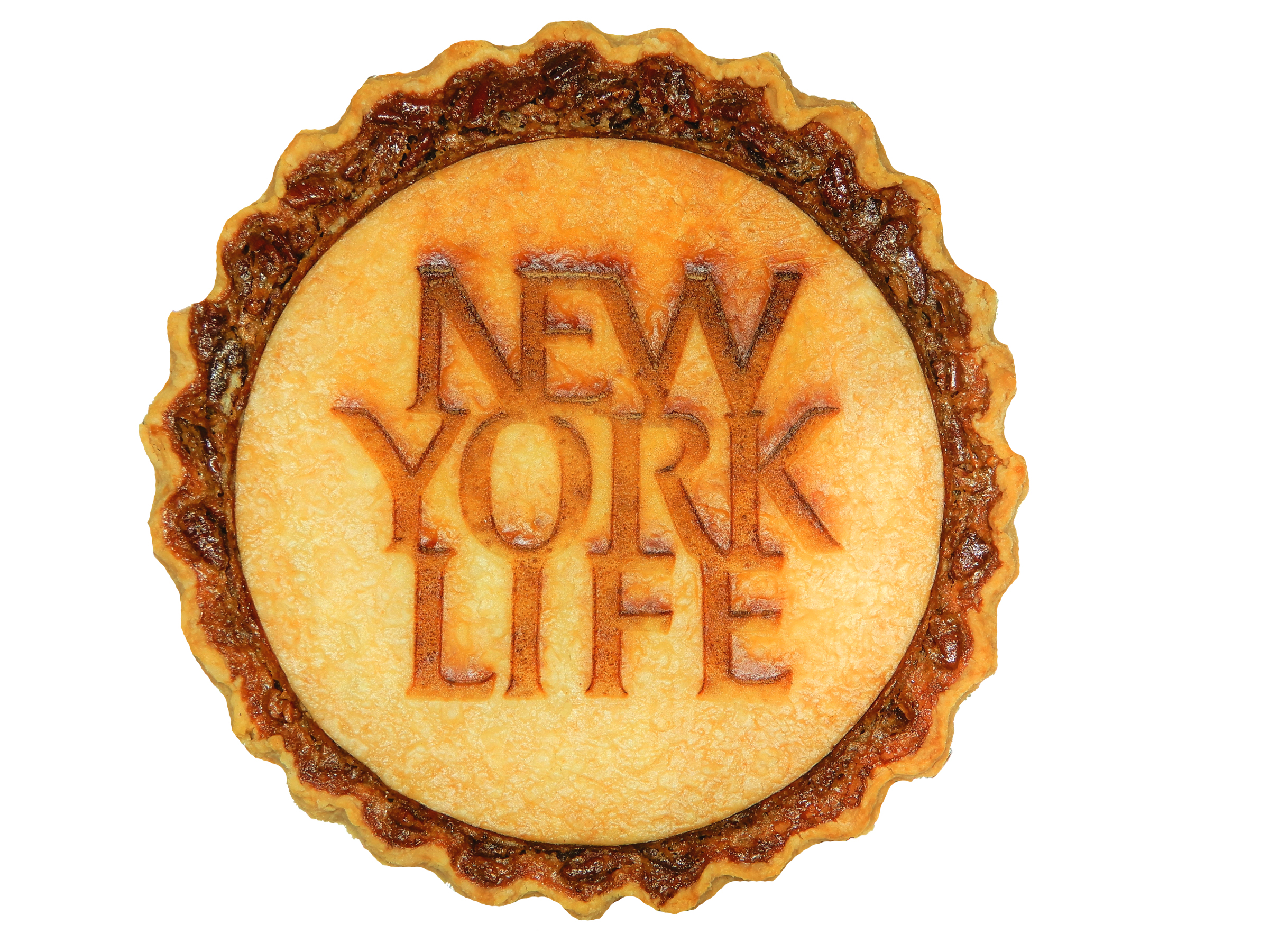 Custom Pie with Corporate Logo