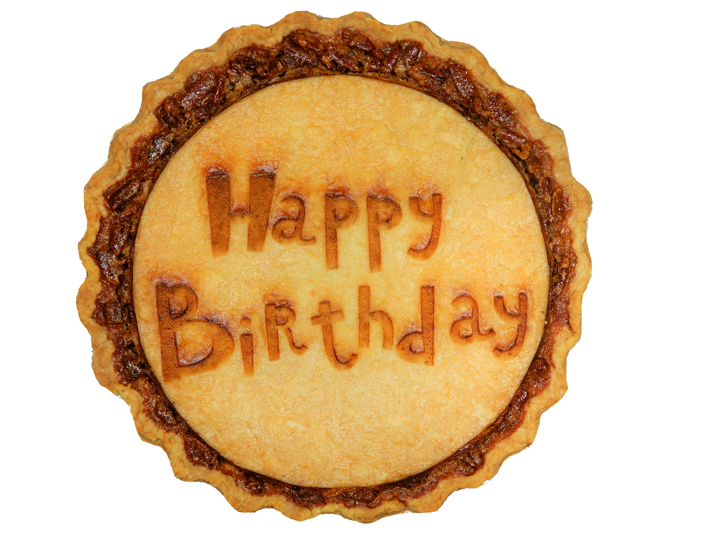 Personalized Birthday Gift Pie