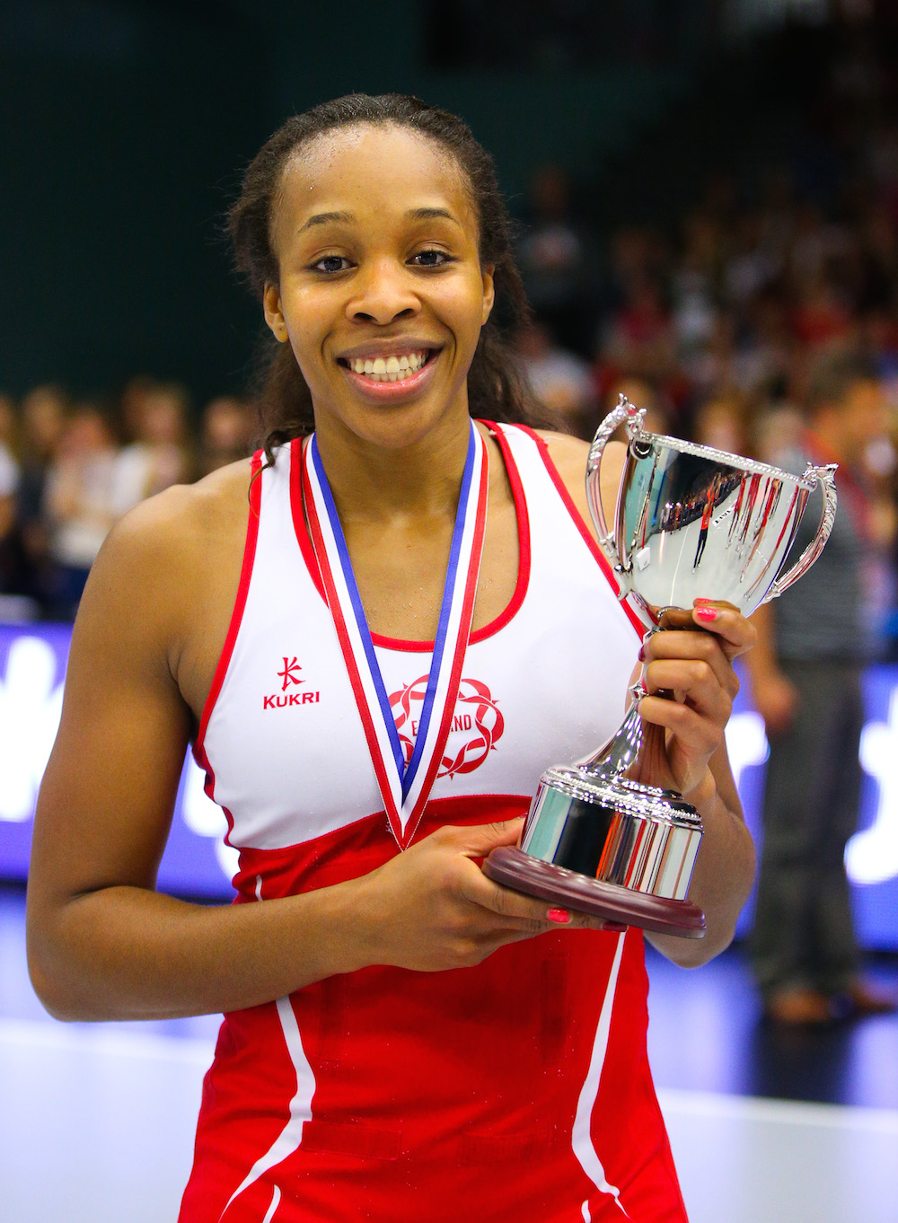 Pamela Cookey  - Ex-England Captain & Commonwealth Games Medalist