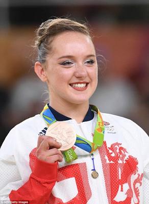 Amy Tinkler - Gymnastics Athlete - Olympic Medal Winner