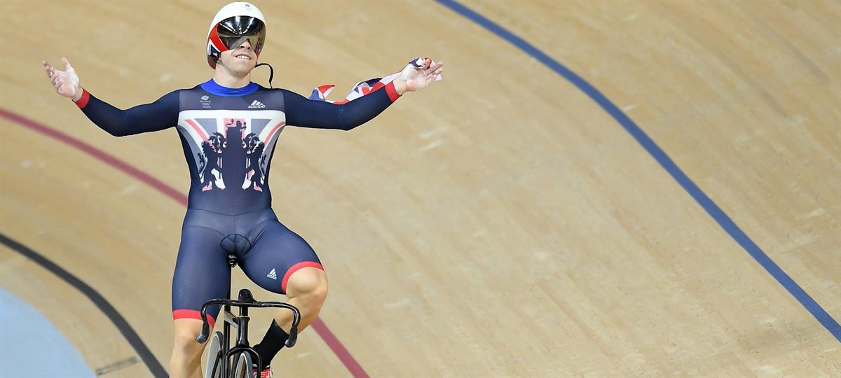 Philip Hindes MBE - British Track Cyclist - 2x Olympic Gold Medalist