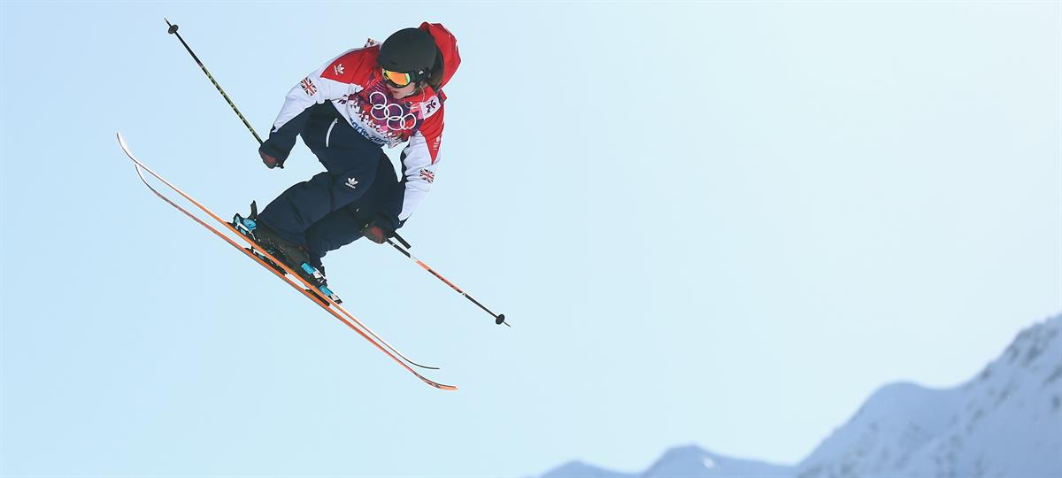 James Woods - Freestyle Skiing Champion