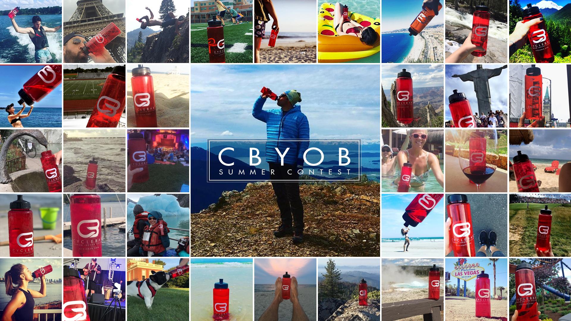 CBYOB CYCLEBAR SUMMER INSTAGRAM CONTEST
