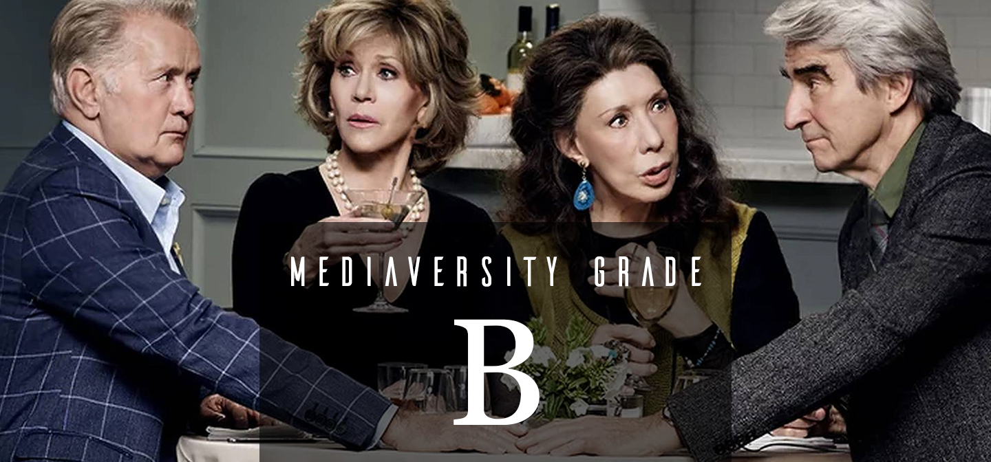 a rEVIEW OF  gRACE AND fRANKIE  bASED ON qUALITY, rACE, gENDER, AND lgbtq tOPICS