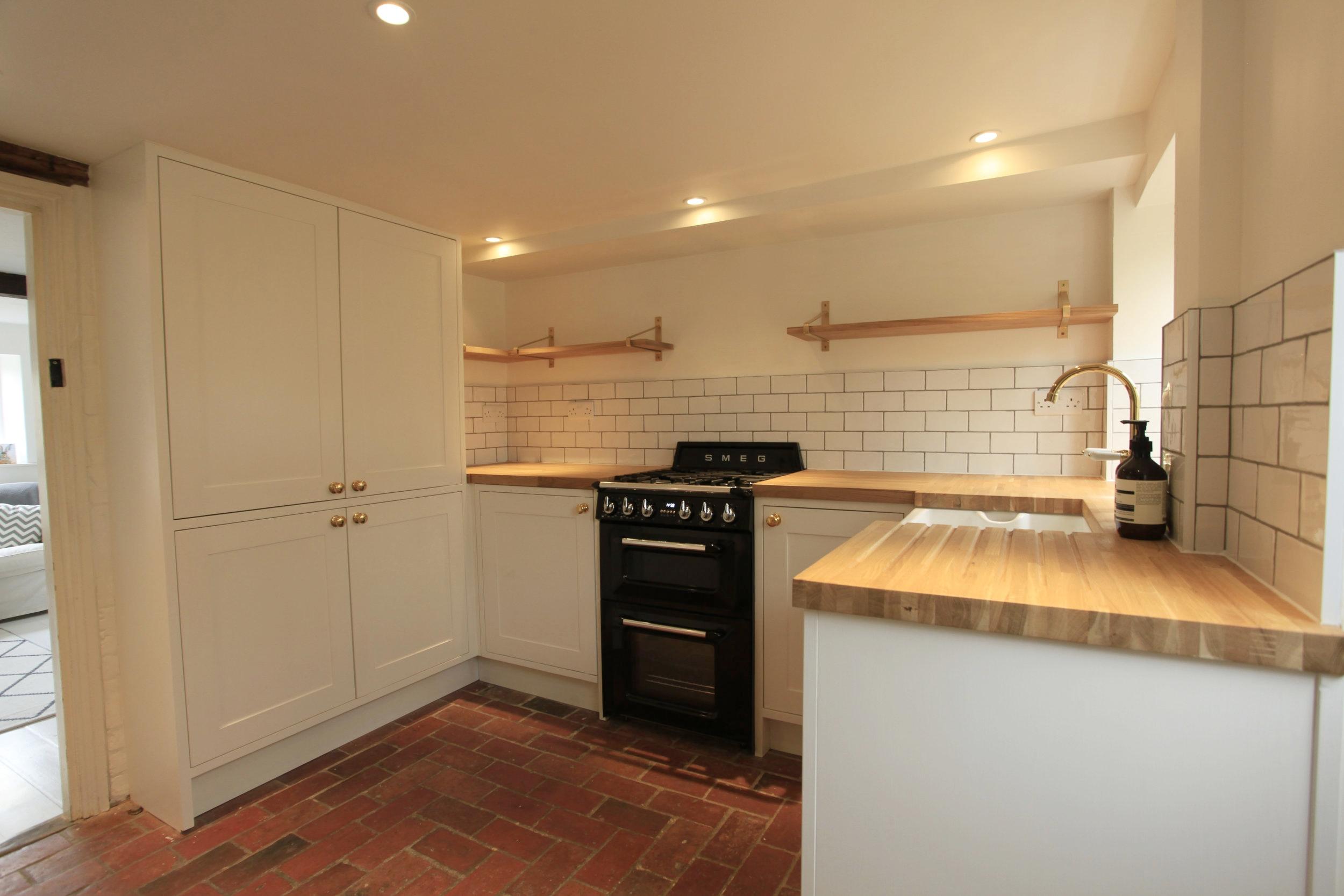 Hand Built Kitchen 1