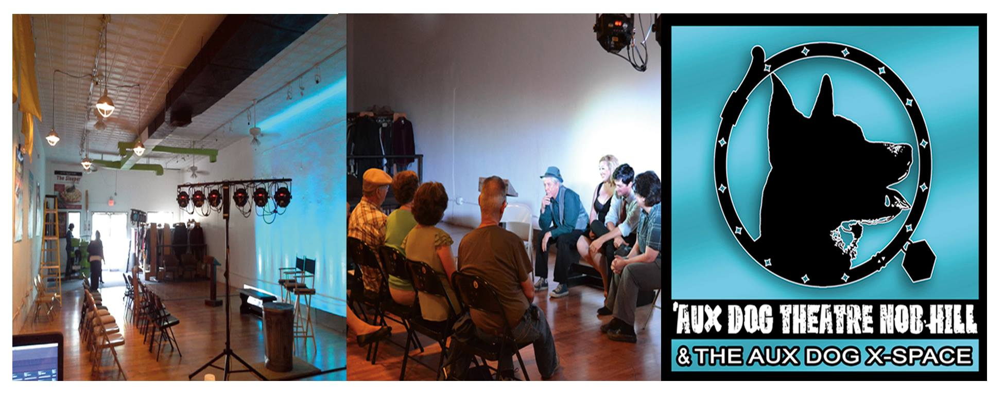 A staged reading in the X-Space