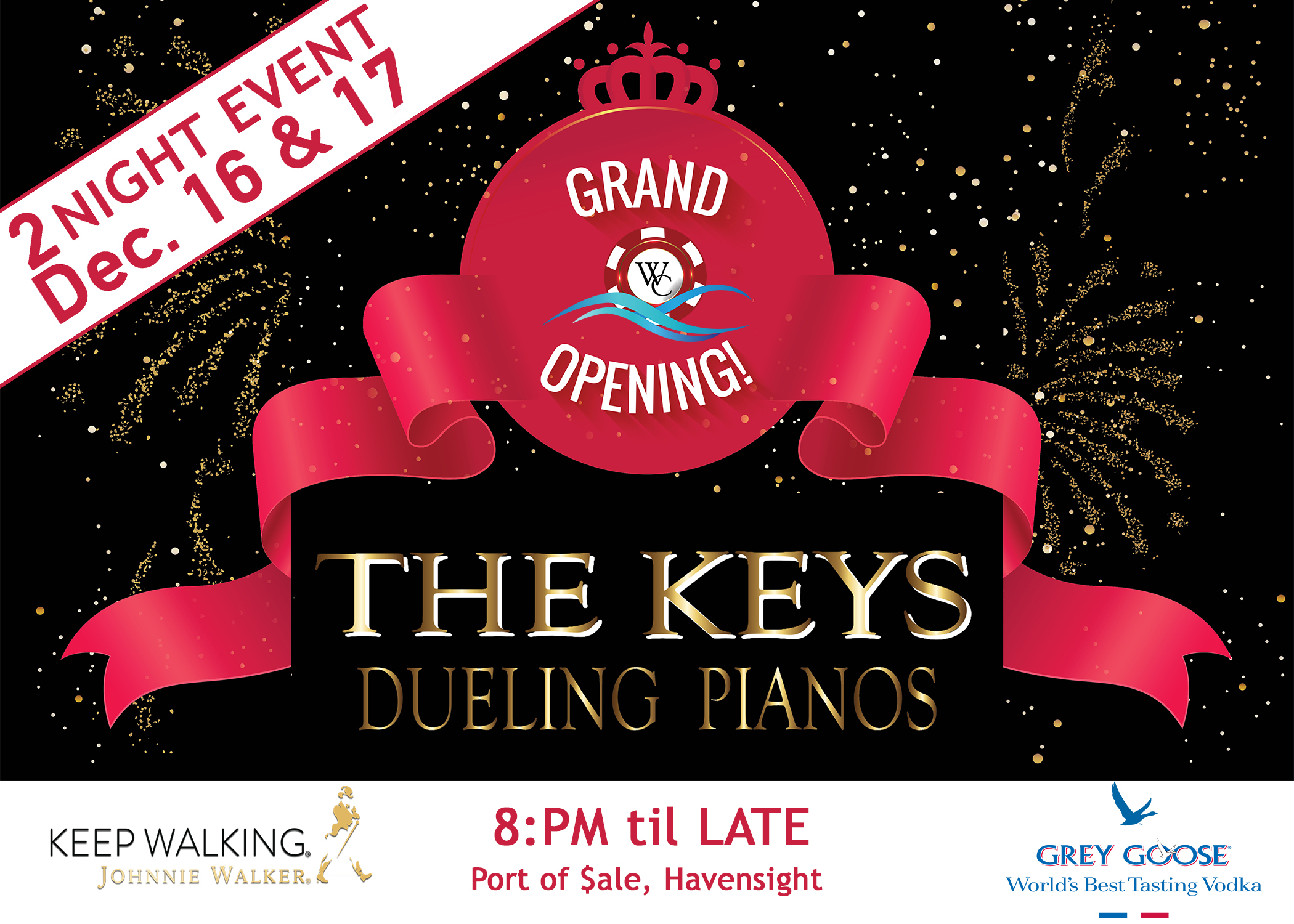 Grand Opening- The Keys Dueling Pianos