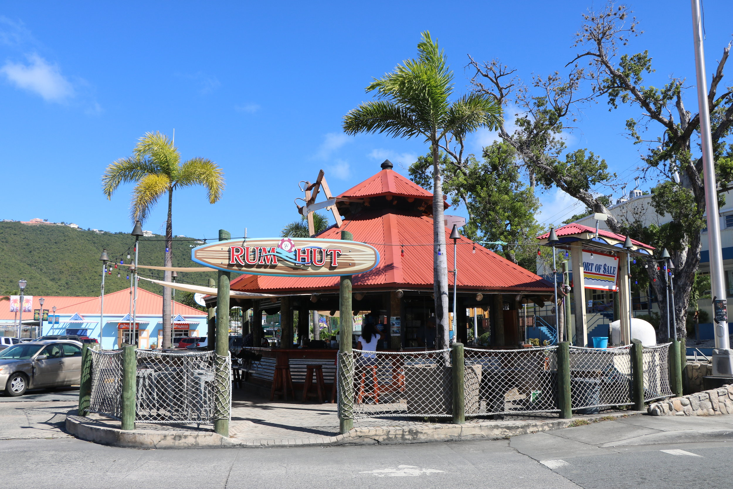 The coolest bar on st.thomas! - Located at Port of Sale Mall.