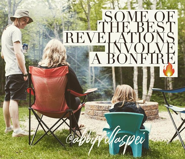 #breathe #pei #cottagelife #whitesand #connection #relax #culinary #marshmello #drinks #laughter #friendship #reunion #peitourism #summer #island #adventure #stayhappy #yourewelcome #campingchair #squirrel #clothessmelllikecampfire #come