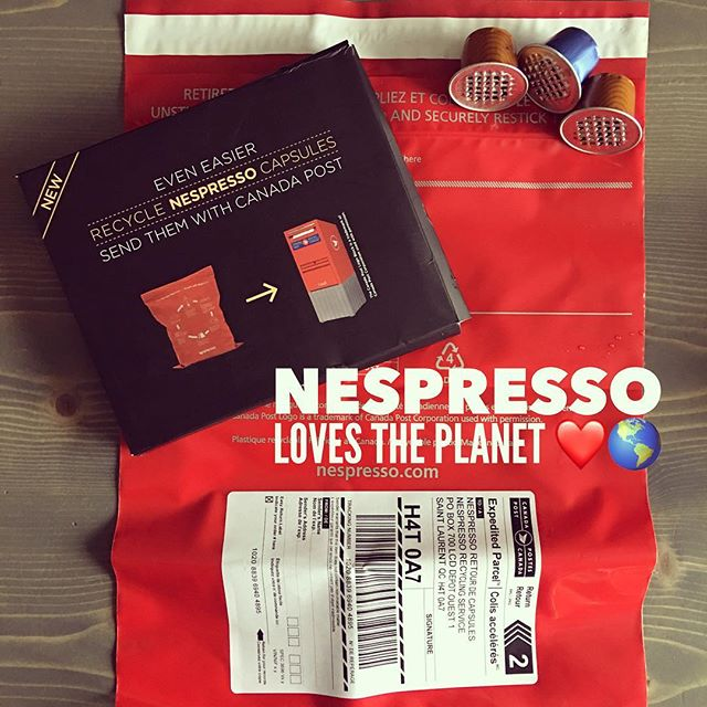 So impressed with @nespresso.ca! Woke up this morning to find this in the mail (minus the used capsules) Looks like Nespresso is our official coffee supplier for @abbyvillaspei! #planetearth #smallchanges #lovemyisland #environmentallyfriendly #landfilldiversion  #princeedwardislandcanada #vacationrental #play #redcliff #canadapost #goodbusiness #coffee #recycle