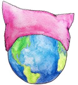 Pussyhat globe.jpg