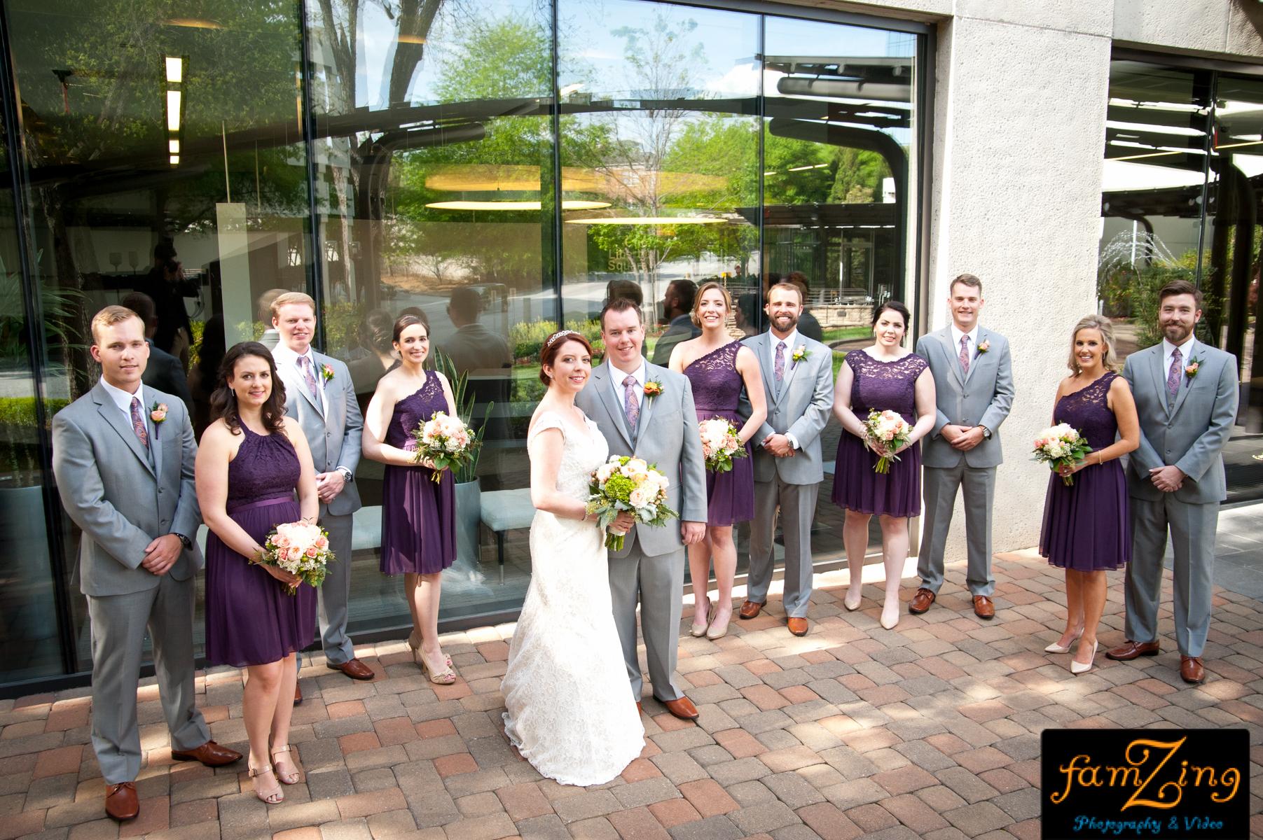 commerce club wedding ceremony reception dj greenville south carolina sc upstate outdoor fun famzing