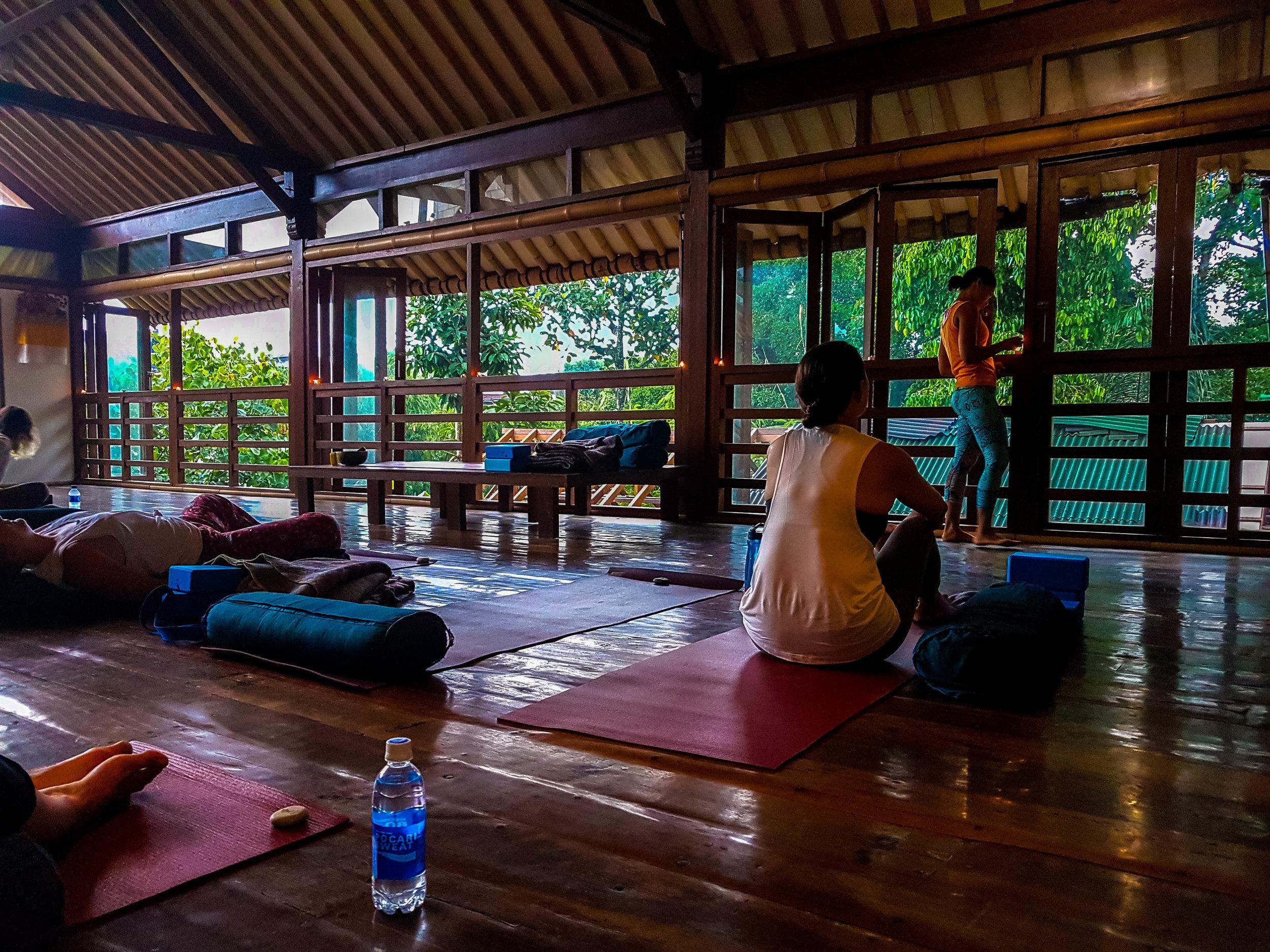 Radiantly Alive Yoga Ubud