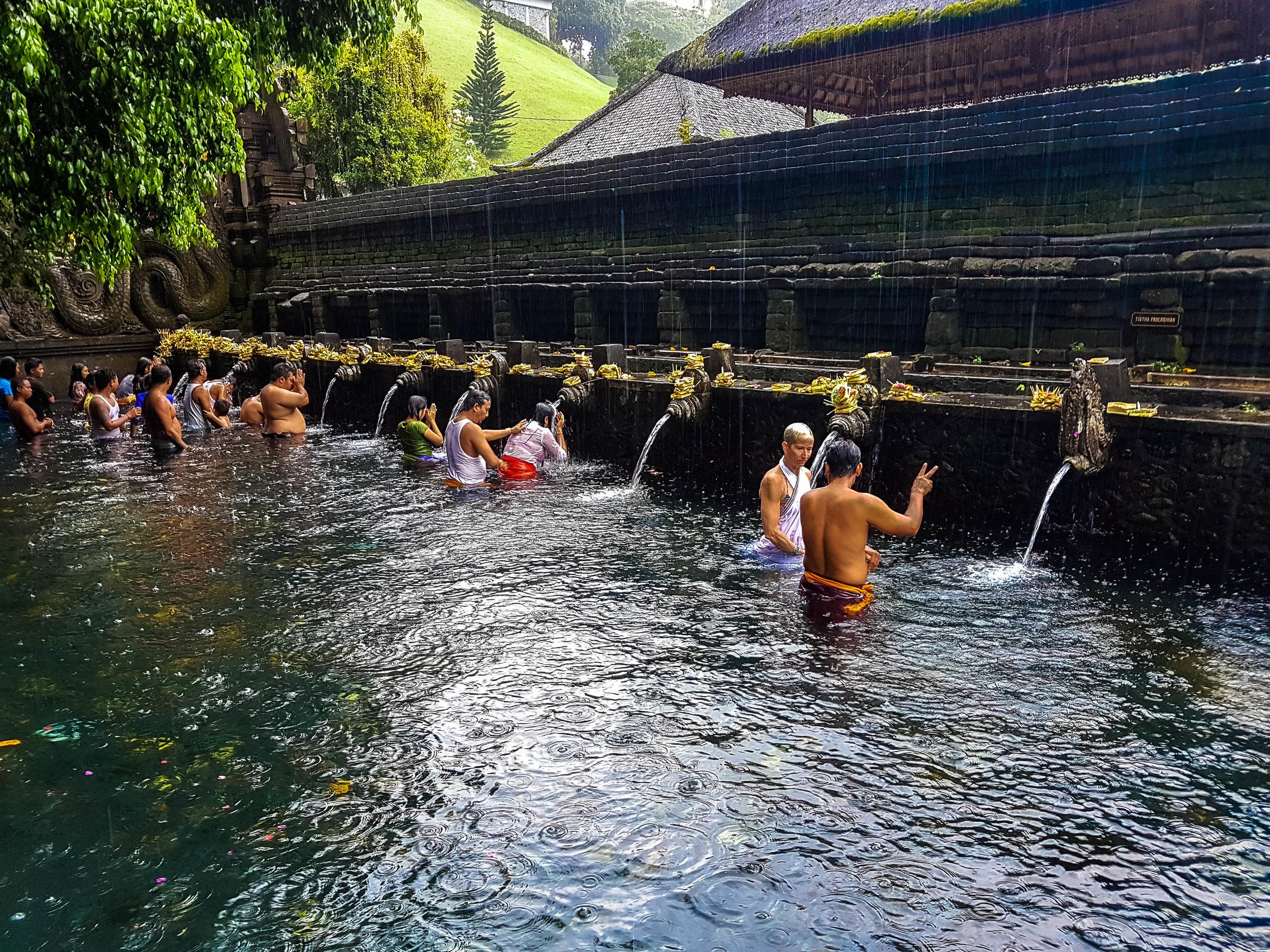 Pura Tirta Empul the Water Temple