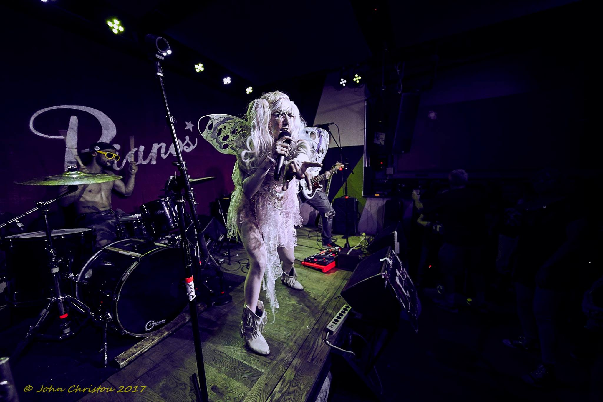 j and the 9s live at Pianos NYC Photo Credit: John Christou