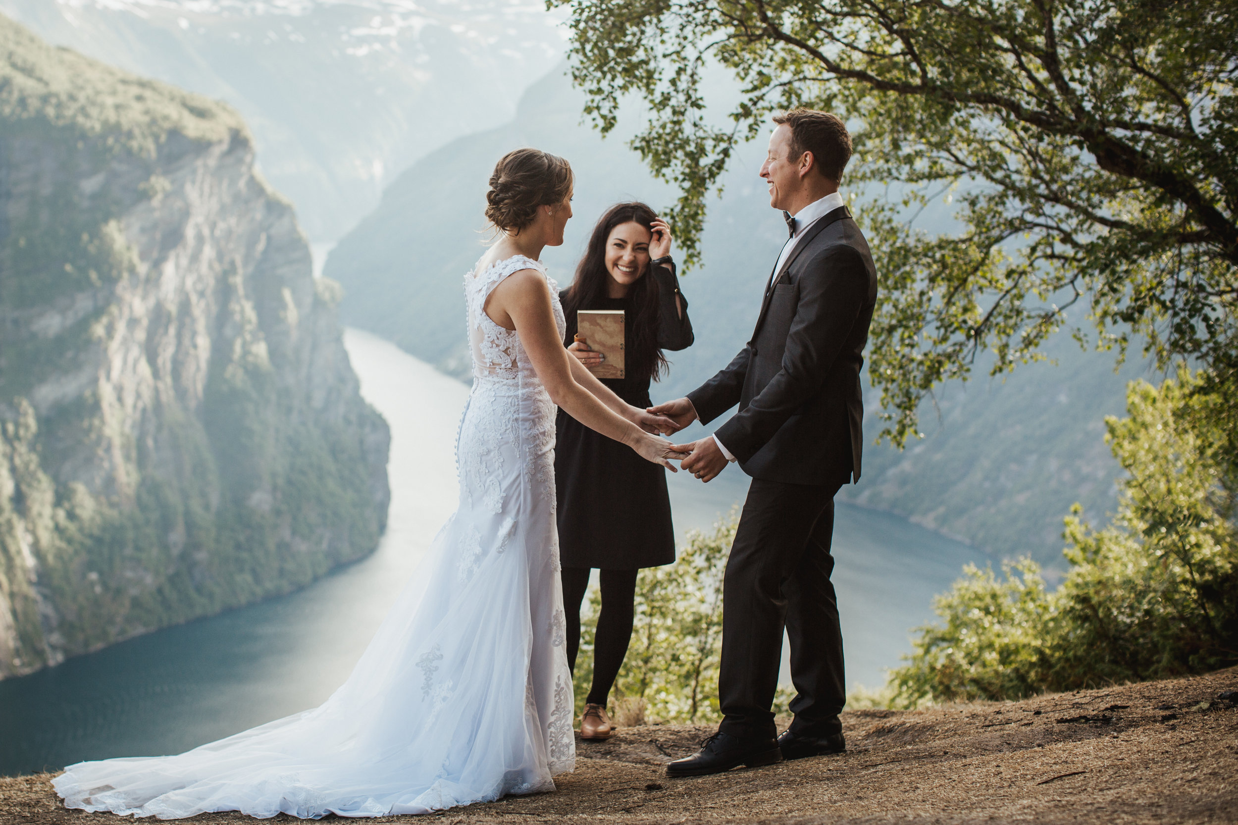 Promise Mountain Ceremony - Geirangerfjord, Norway