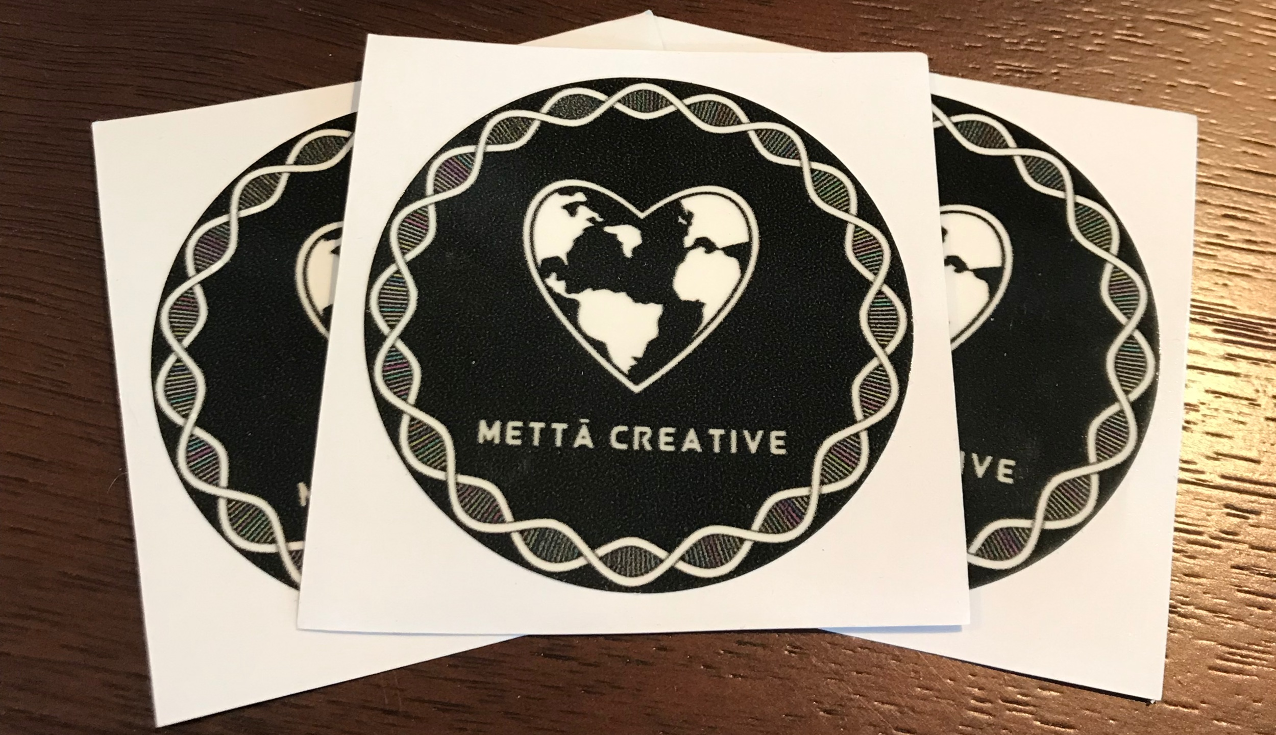 Mettā Creative Sticker Pack