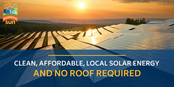 Community solar can be easy. Check out some useful resources here to learn how you can join and support renewable energy while saving money on your bill.