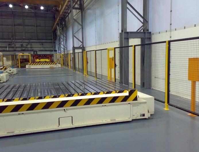 Fixed Steel Guarding
