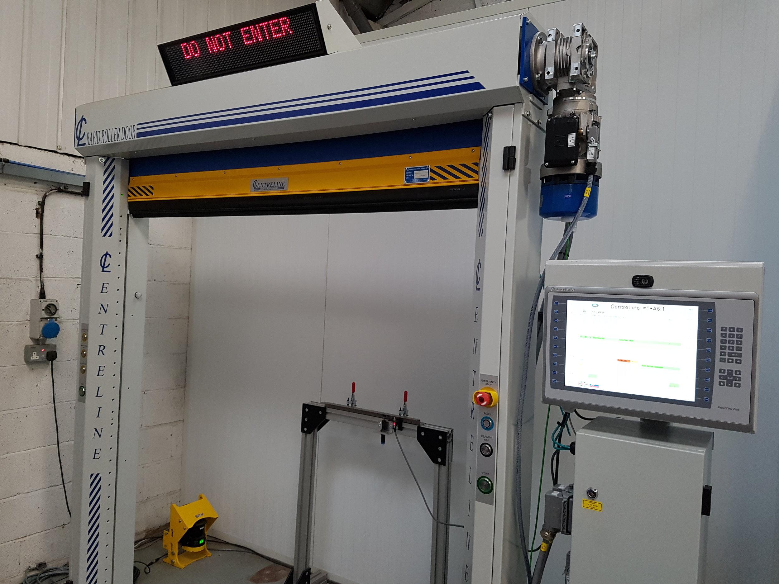 All New Ethernet Rapid Roller Door