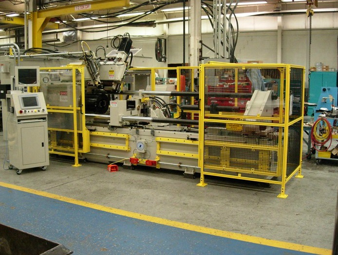Heavy Aluminium Machine Guarding