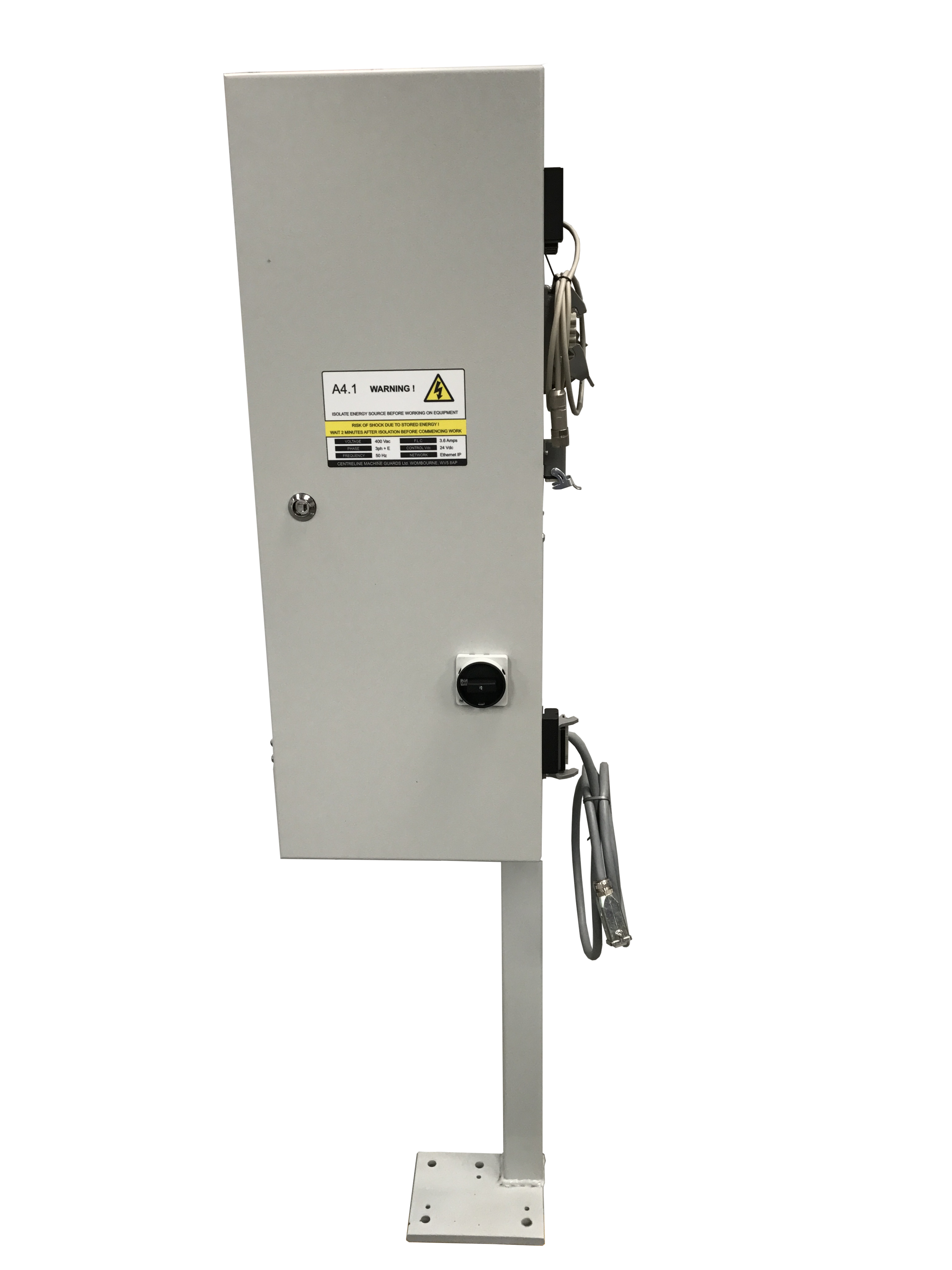 Door comes with our own integrated control box developed to suite the applications requirements, offering a broad spectrum of integration compatability.