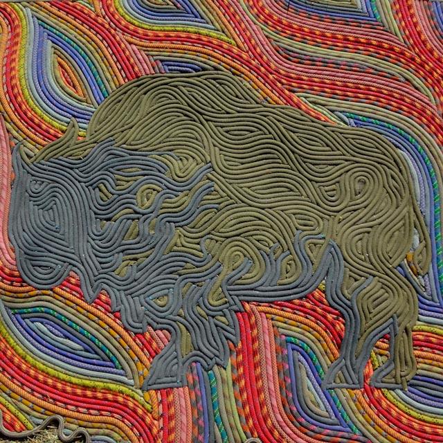 Oklahoma Bison (detail)