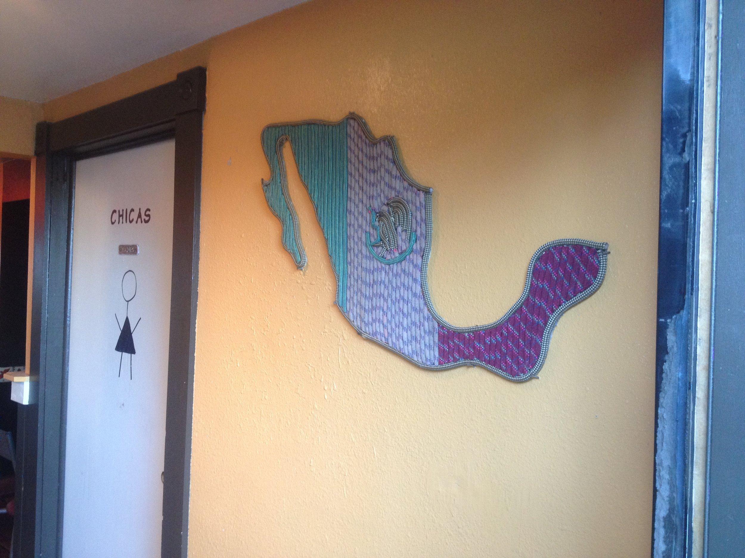 Mexico (detail)
