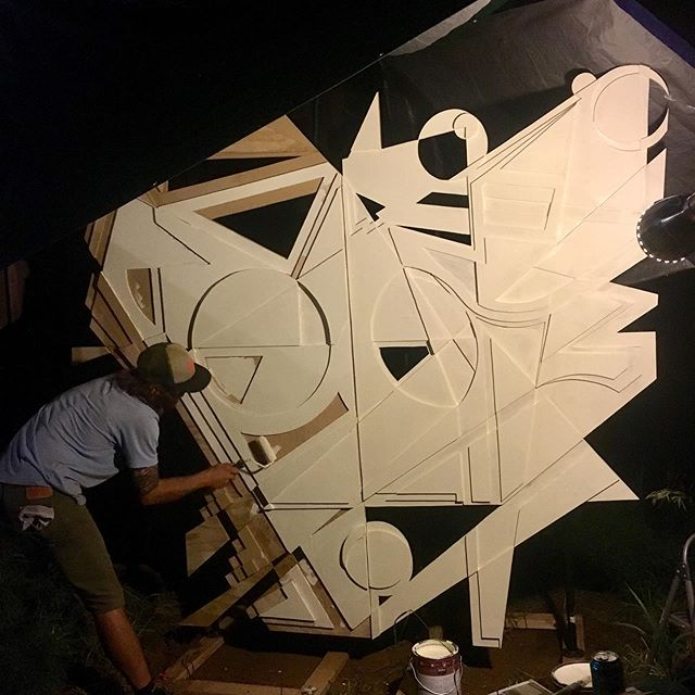 You ready to Arise...? #livepainting #painting #sculpture #art #festivalbound #local #music #festival