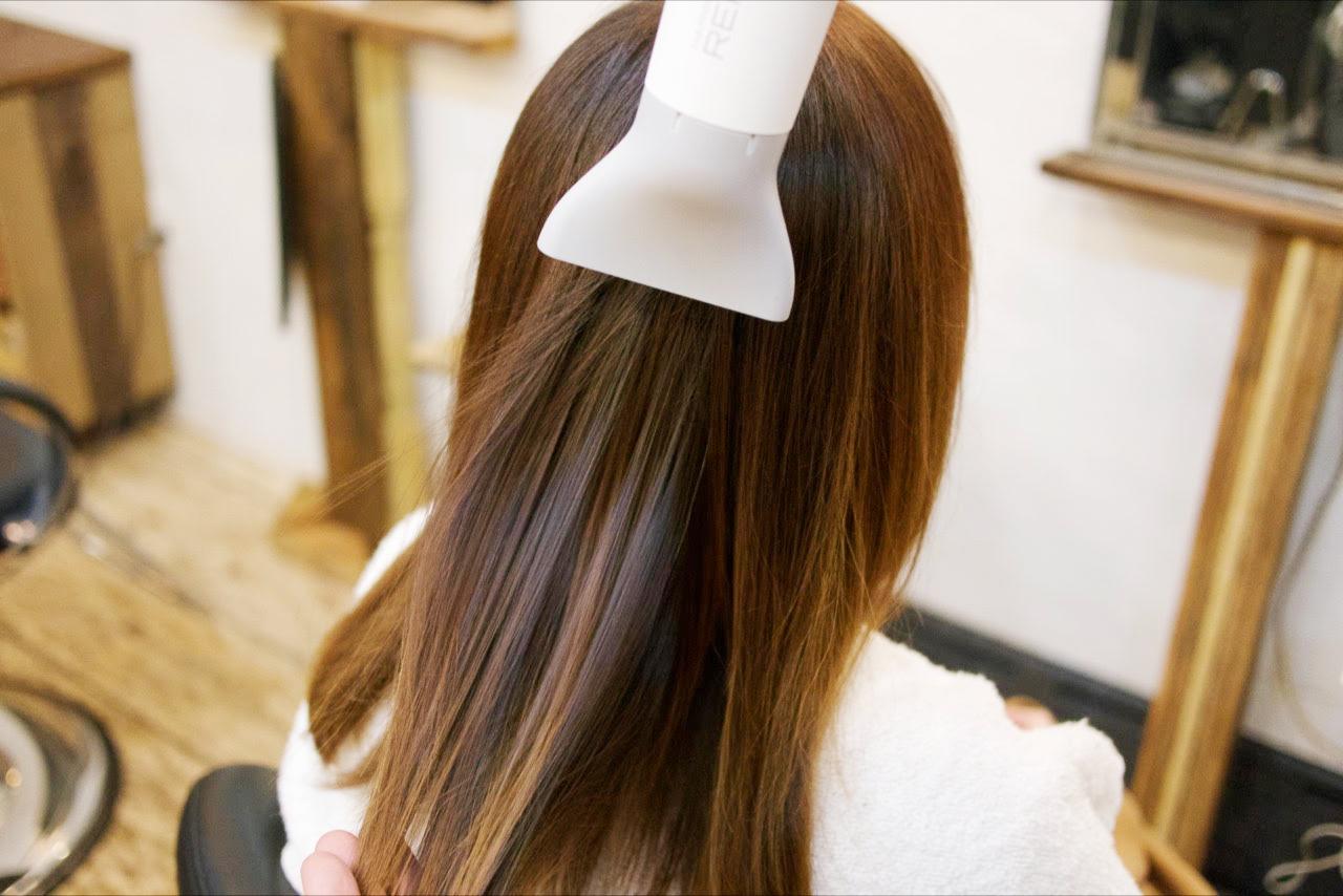8, Dry hair