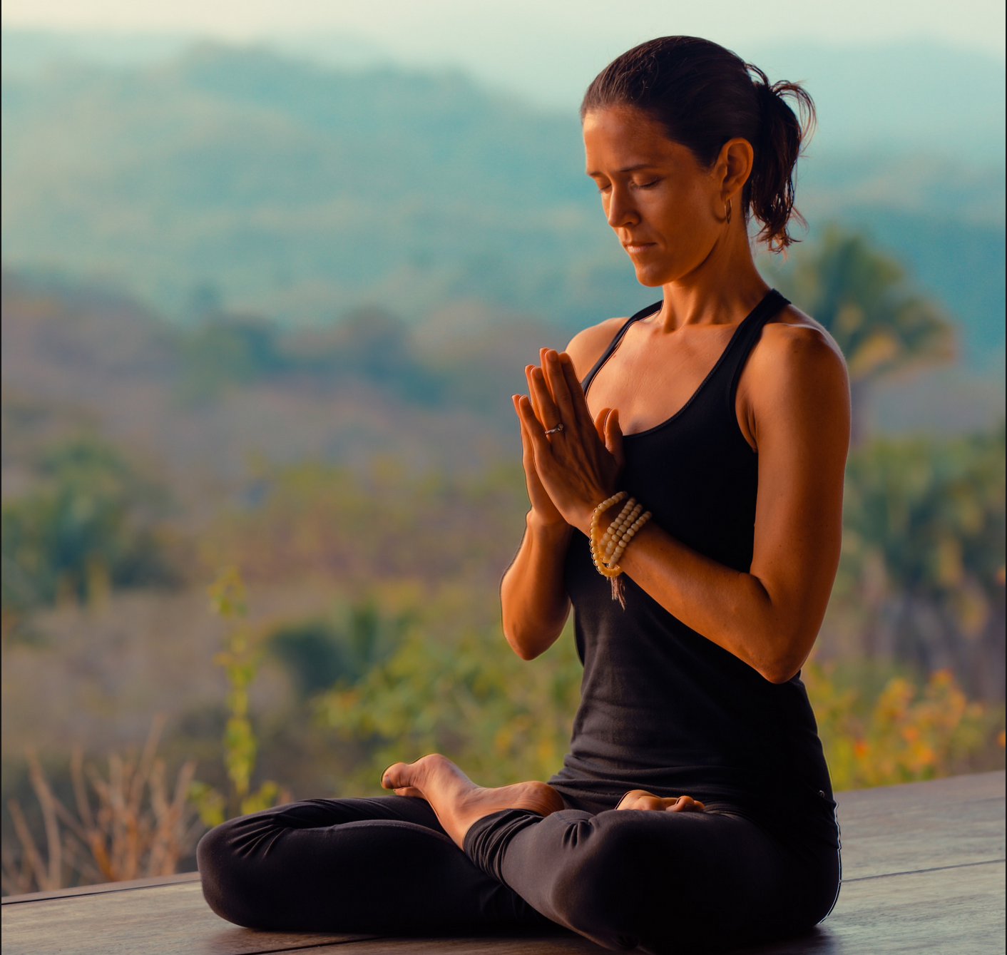 Rosemary Garrison, yoga instructor