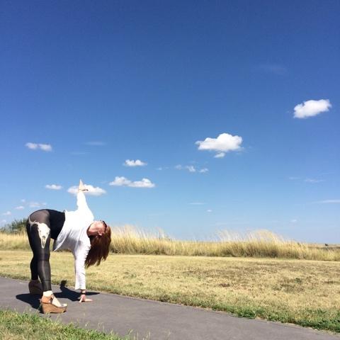 Libby Murfey, yoga instructor