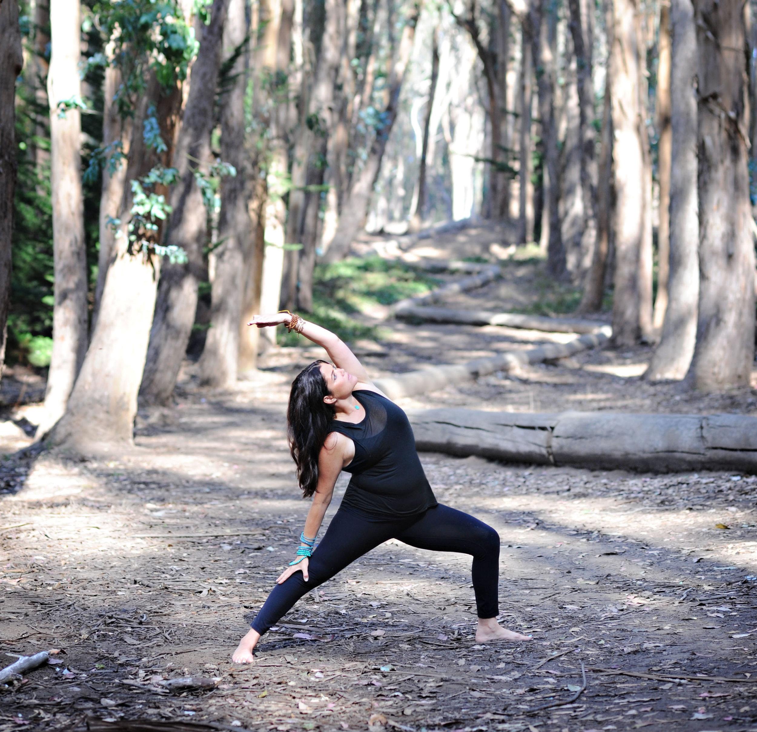 Bryant Resch, yoga instructor