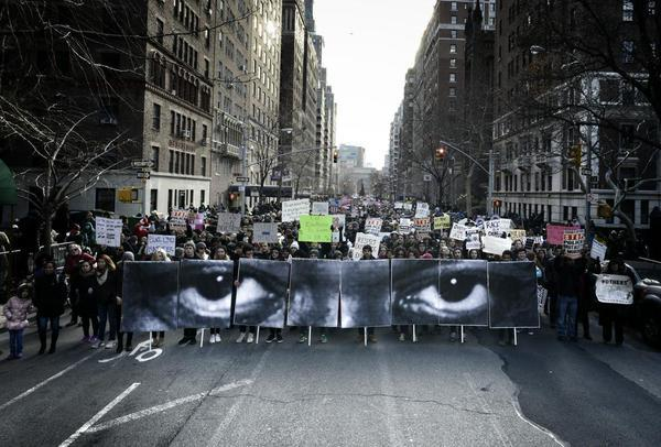 March for Eric Garner, NYC
