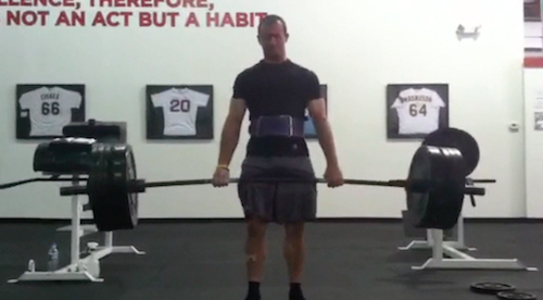 Deadlifts at CSP. Some of the best training sessions I ever had.
