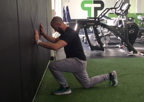 Limited ankle dorsiflexion can also make achieving depth difficult when squatting.