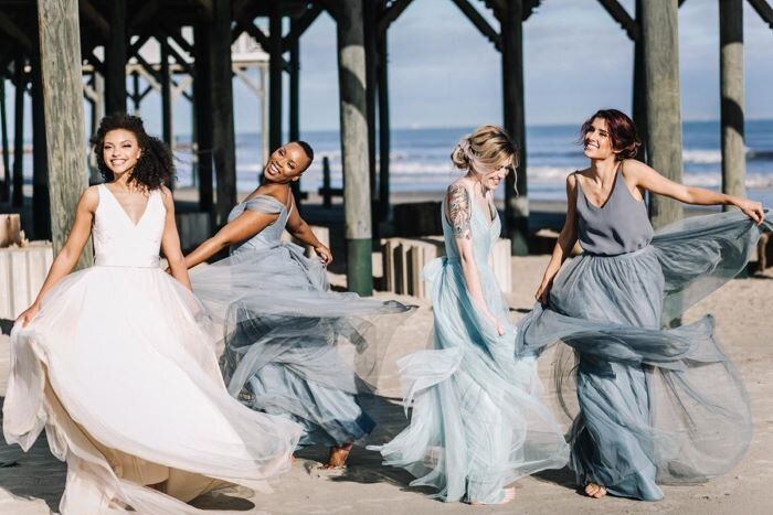 Tips For Choosing The Perfect Bridesmaid Dresses For Your Destination Wedding Travelbash,Mermaid Most Popular Wedding Dresses