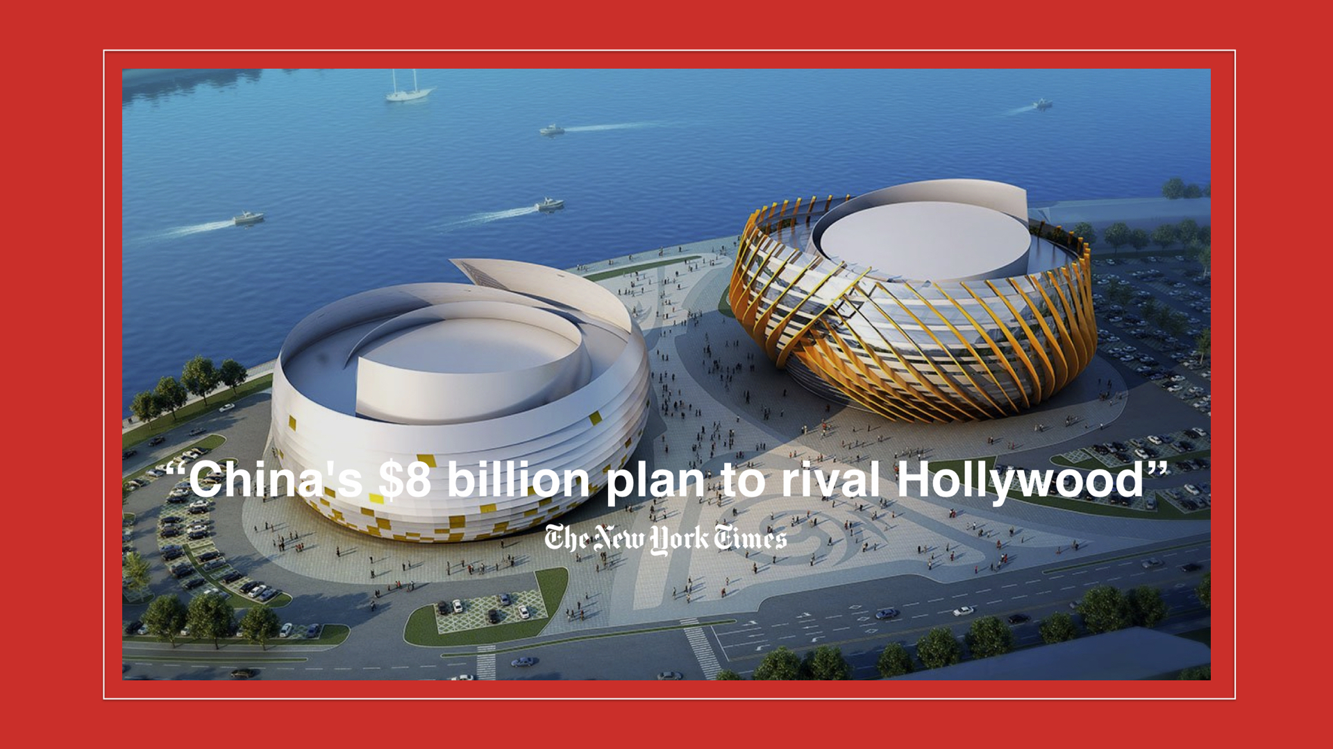 Wanda Group, embraced this chance to lead the global cinematic cooperation by opening the  Oriental Movie Metropolis , the world's largest studio.
