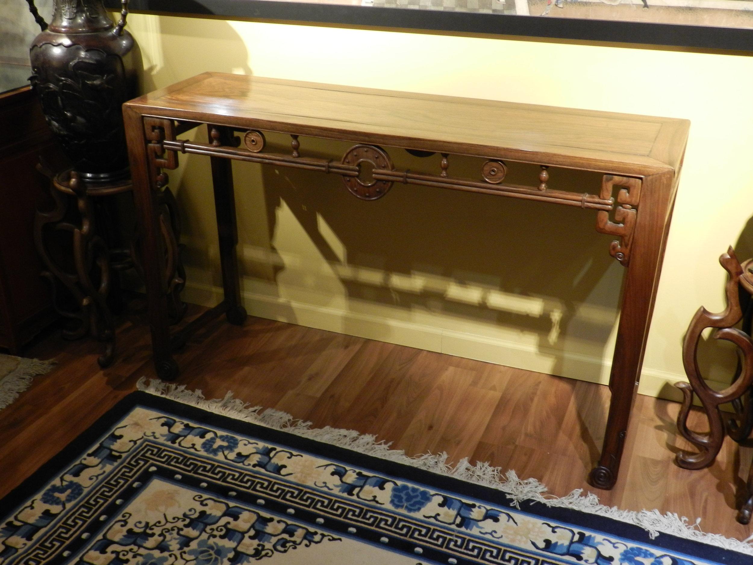 黄花梨坛桌