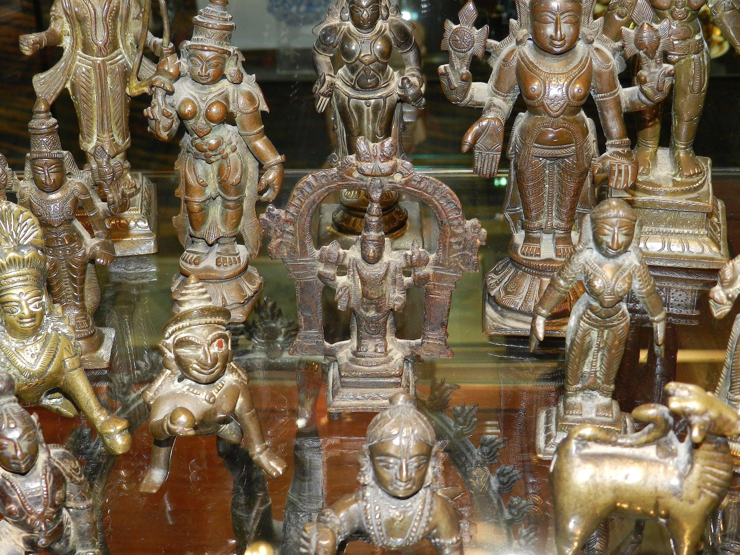 Assorted Asian Bronze Figures